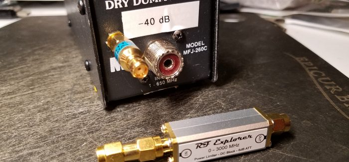Monitor transmitter quality using a RF tap